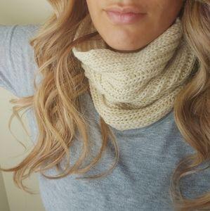 Cream Infinity scarf! Super soft!